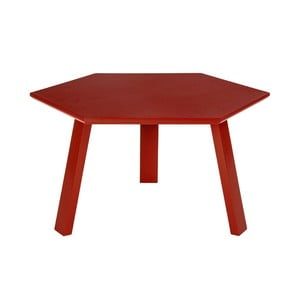 Stolik Hexagon Red, 47x37x47 cm
