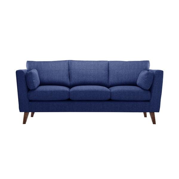 Granatowa sofa trzyosobowa Jalouse Maison Elisa