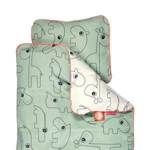 Pościel Contour Green, 100x135 cm