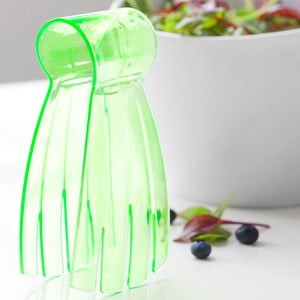 Zielone szczypce do sałatki Steel Function Salad Hand