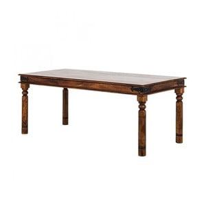 Stół z palisandru Massive Home Nicco, 140x90 cm