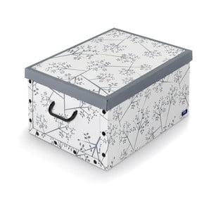 Szare pudełko Domopak Bon Ton