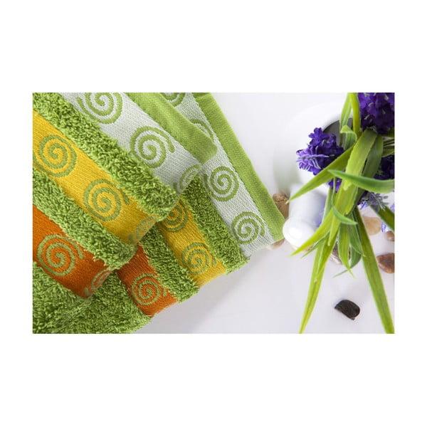 Zestaw 2 ręczników Truva Green, 50x90 cm