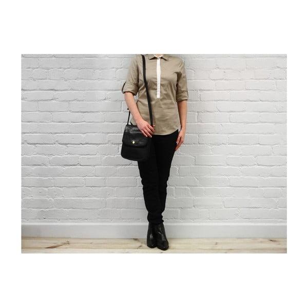 Damska torba skórzana Lucinda Black