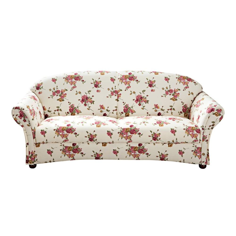 Kwiecista sofa 3-osobowa Max Winzer Corona