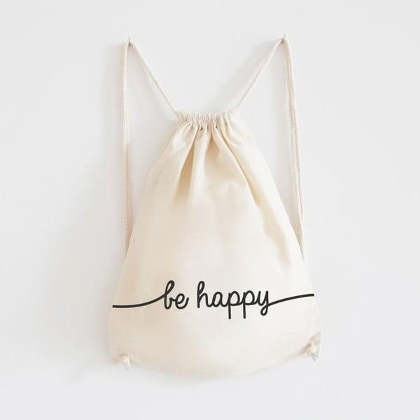 Plecak płócienny Be Happy