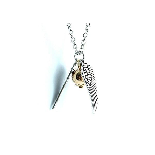 Naszyjnik Wings Love Pearl Silver