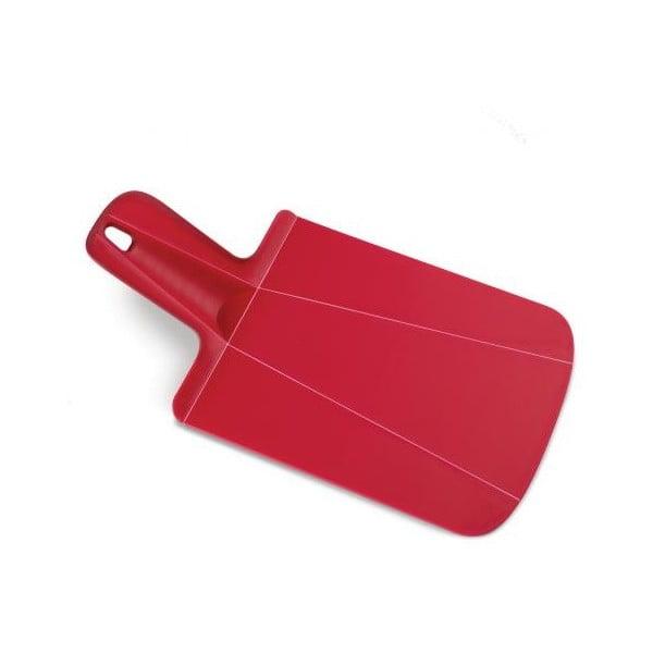 Czerwona składana deska do krojenia Joseph Joseph Chop2Pot Mini