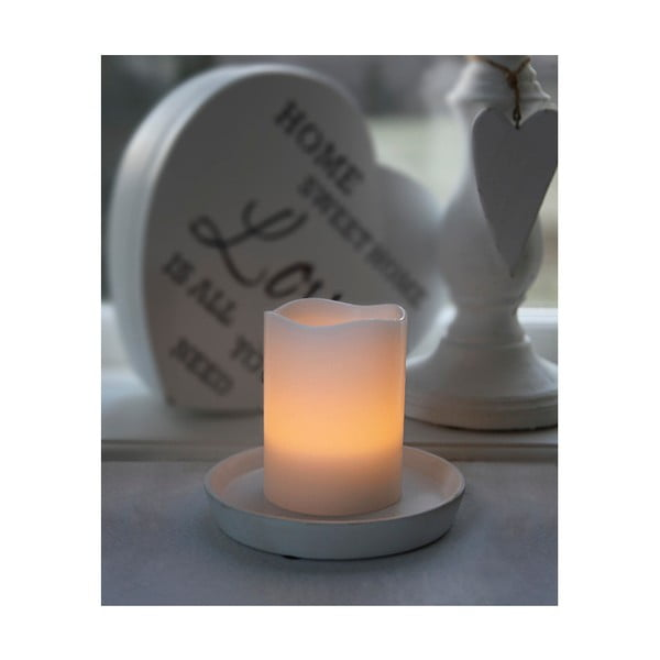 Świeczka woskowa LED Best Season, 10 cm