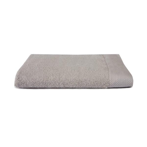 Jasnoszary ręcznik Seahorse Pure, 70x140cm