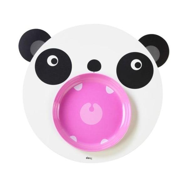 Mata stołowa i talerz Hungry Panda