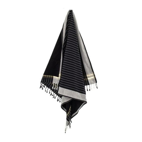 Ręcznik Muge Black, 100x178 cm
