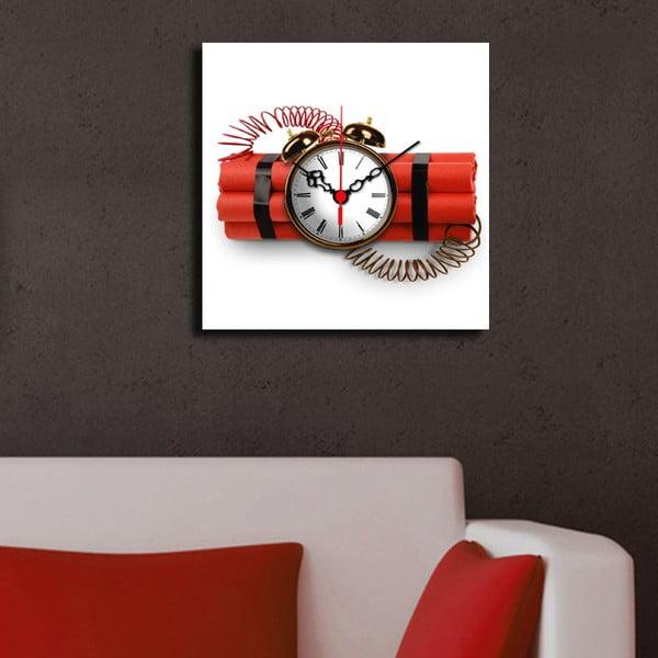Obraz z zegarem Dynamit