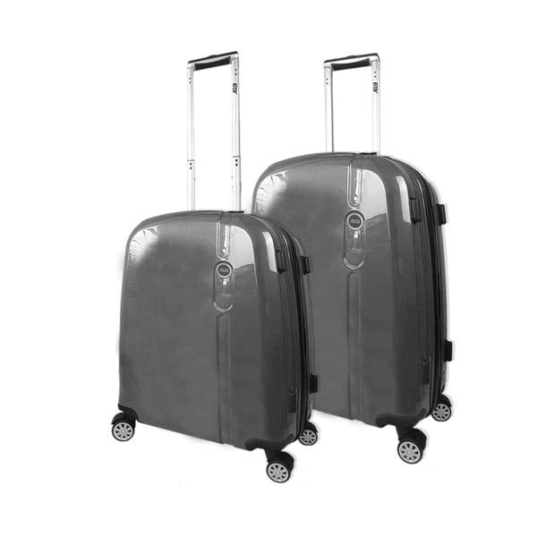 Zestaw 2 walizek Victorio Antracita