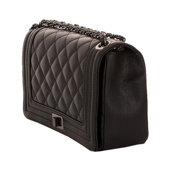 Skórzana torebka Andrea Cardone 2033 Black