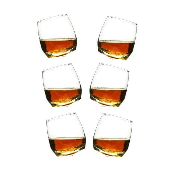 Zestaw 6 bujających się szklanek do whisky Sagaform