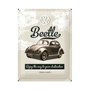 Blaszana tabliczka Beetle II, 30x40 cm