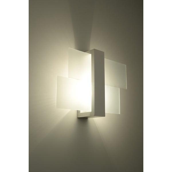Biały kinkiet Nice Lamps Leda