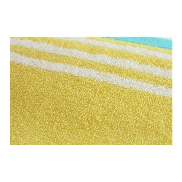 Zestaw 2 ręczników Halley Mustard, 70x140 cm