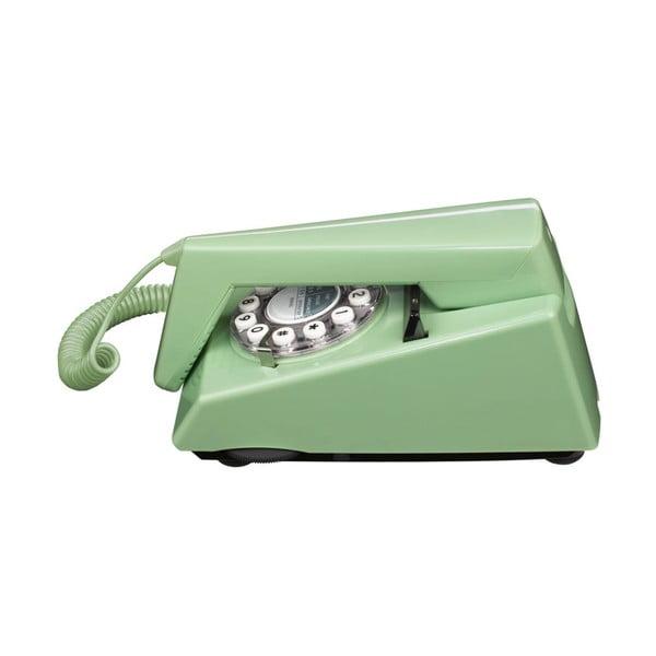 Telefon stacjonarny w stylu retro Trim Swedish Green