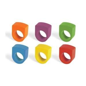 Zestaw kredek na palce Round Crayon Rings