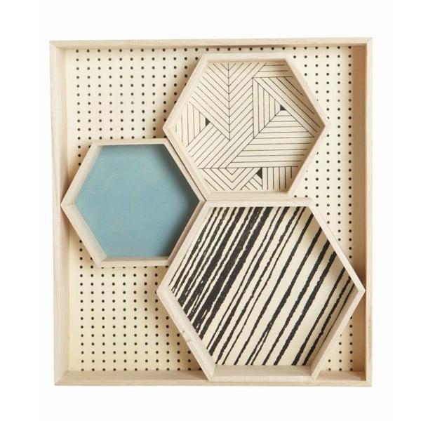 Organizer Hexagonal Veneer