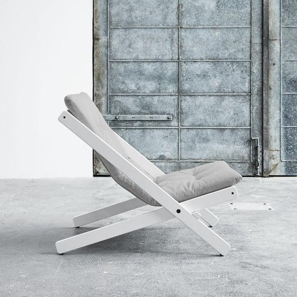 Fotel składany Karup Boogie White/Gris