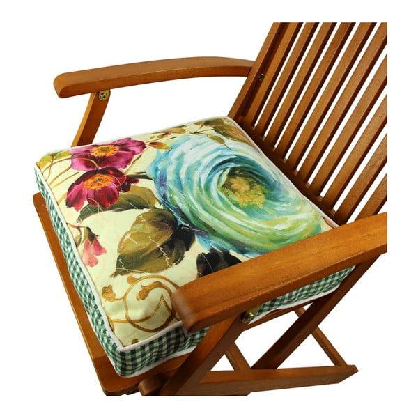 Poduszka na krzesło z wypełnieniem Toledo, 42x42 cm