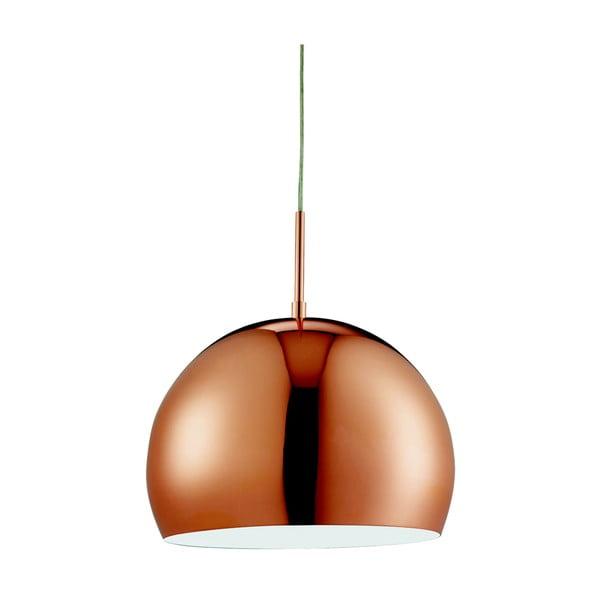 Lampa wisząca Searchlight Domas, miedziana