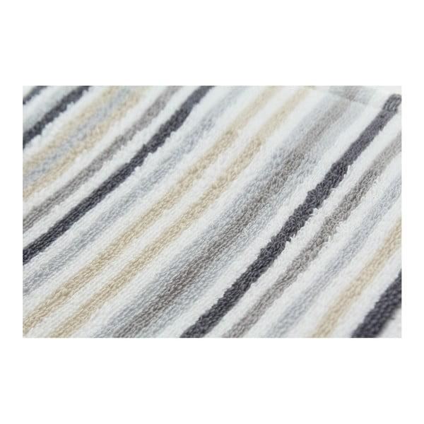 Zestaw 3 ręczników Collette Grey, 50x100 cm