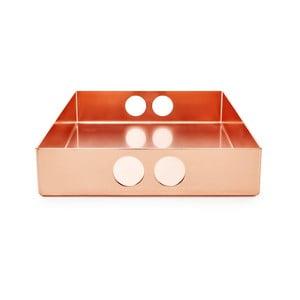 Taca Tray Copper, 22x31 cm