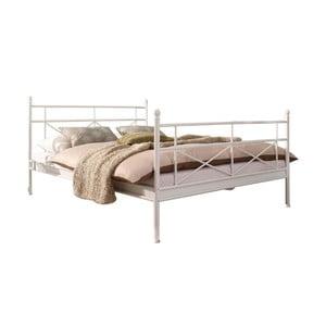 Białe łóżko jednoosobowe 13CasaUtah, 90x200cm
