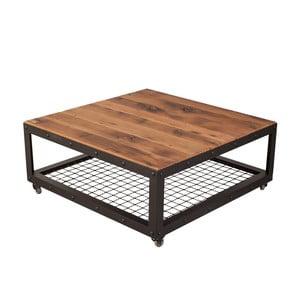 Stolik z blatem z drewna dębowego z recyklingu FLAME furniture Inc. Jumbo