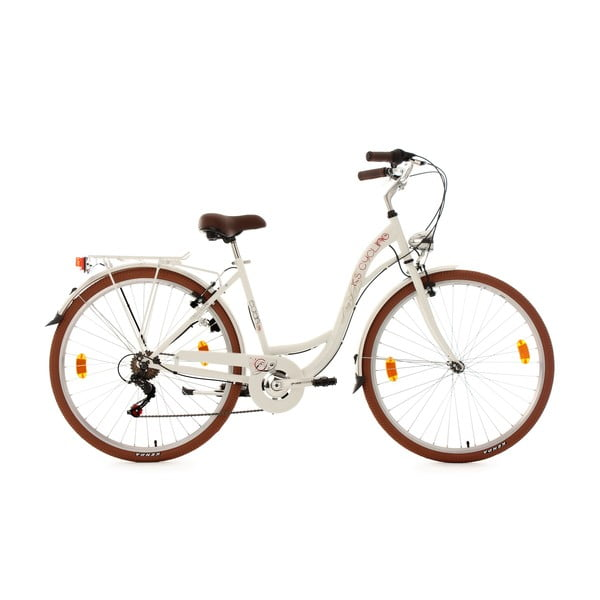 """Rower Eden Bike White, 28"""", wysokość ramy 48 cm"""