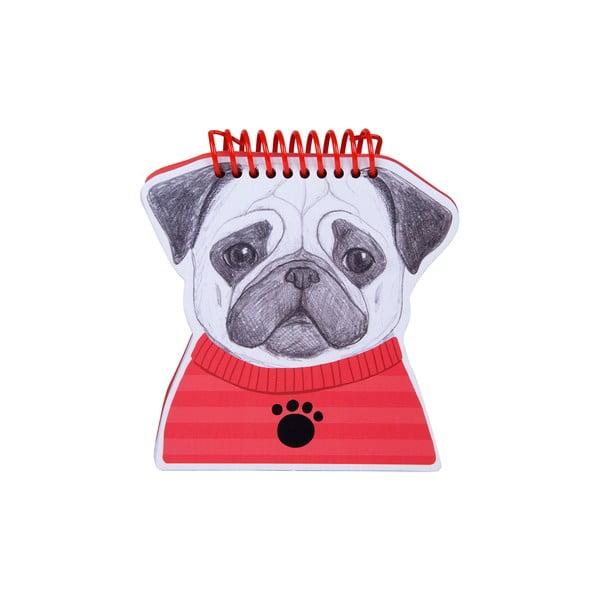 Bloczek w oprawie bindowanej Tri-Coastal Design Doggie