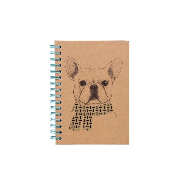 Notes w oprawie bindowanej Tri-Coastal Design Gentleman Dog
