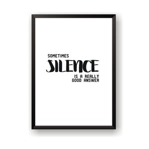 Plakat Nord & Co Silence, 21 x 29 cm
