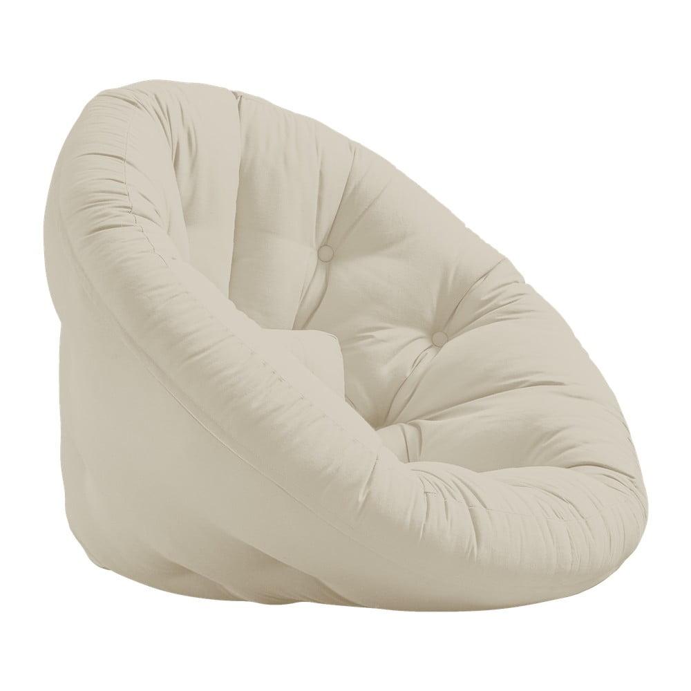 Fotel rozkładany Karup Design Nido Beige
