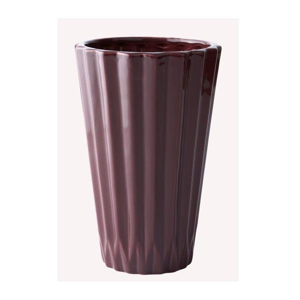 Ceramiczny wazon Plum, 19 cm