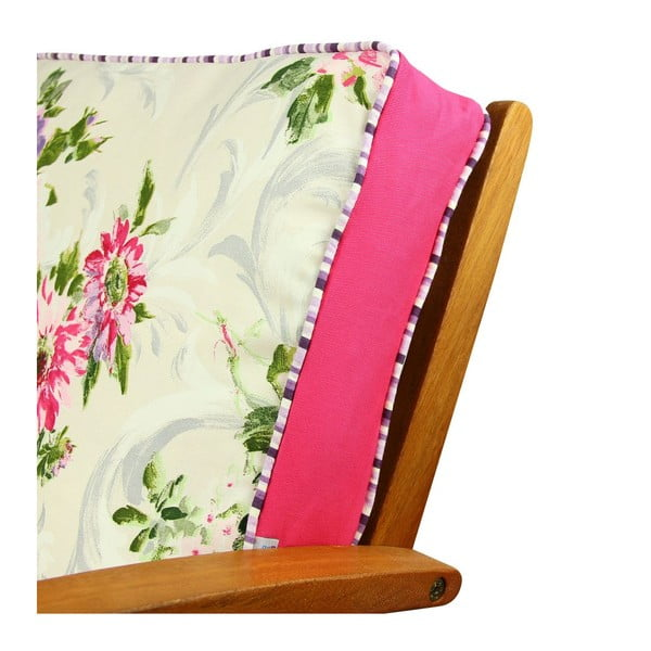 Poduszka na krzesło z wypełnieniem Gilli, 42x42 cm