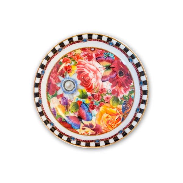 Porcelanowy talerzyk Melli Mello Eliza, 10 cm