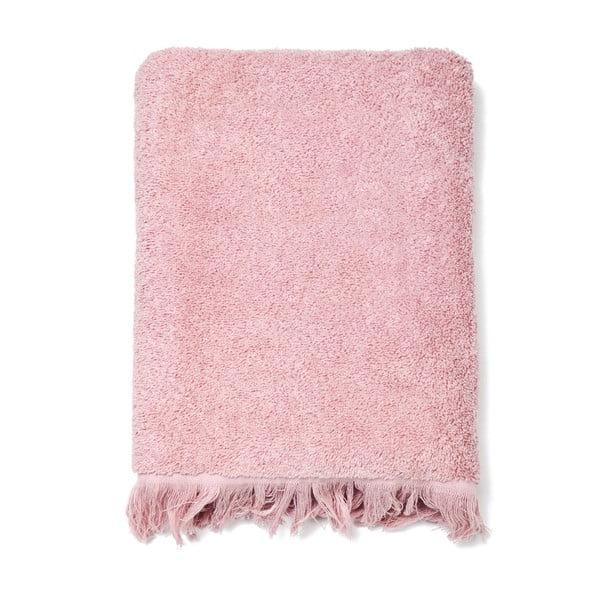 Komplet 4 różowych ręczników Casa Di Bassi Bath, 50x90 cm
