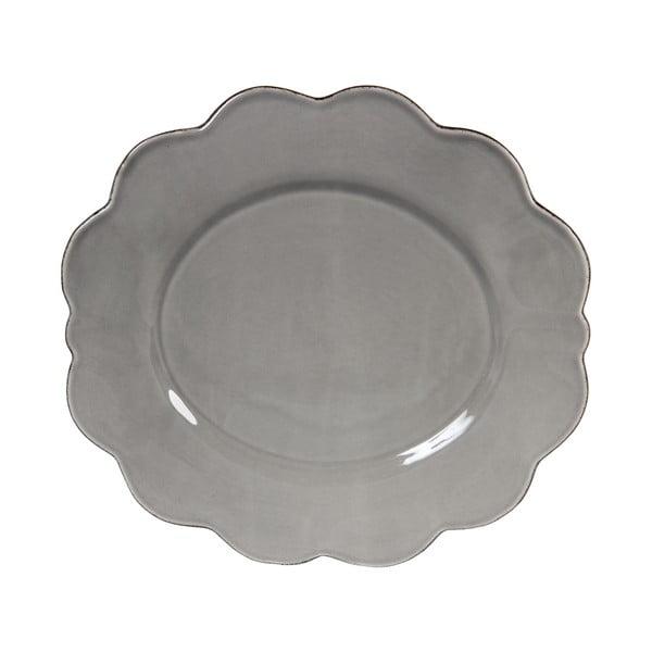 Zestaw 4 talerzy Grey Petale
