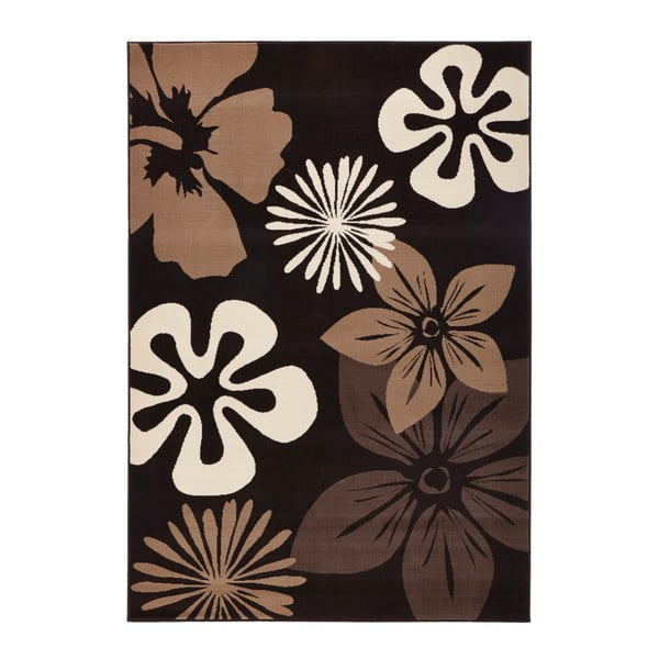 Dywan Hanse Home Gloria Flower Brownie, 80x150 cm