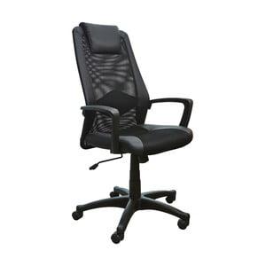 Czarny fotel biurowy 13Casa Office A23