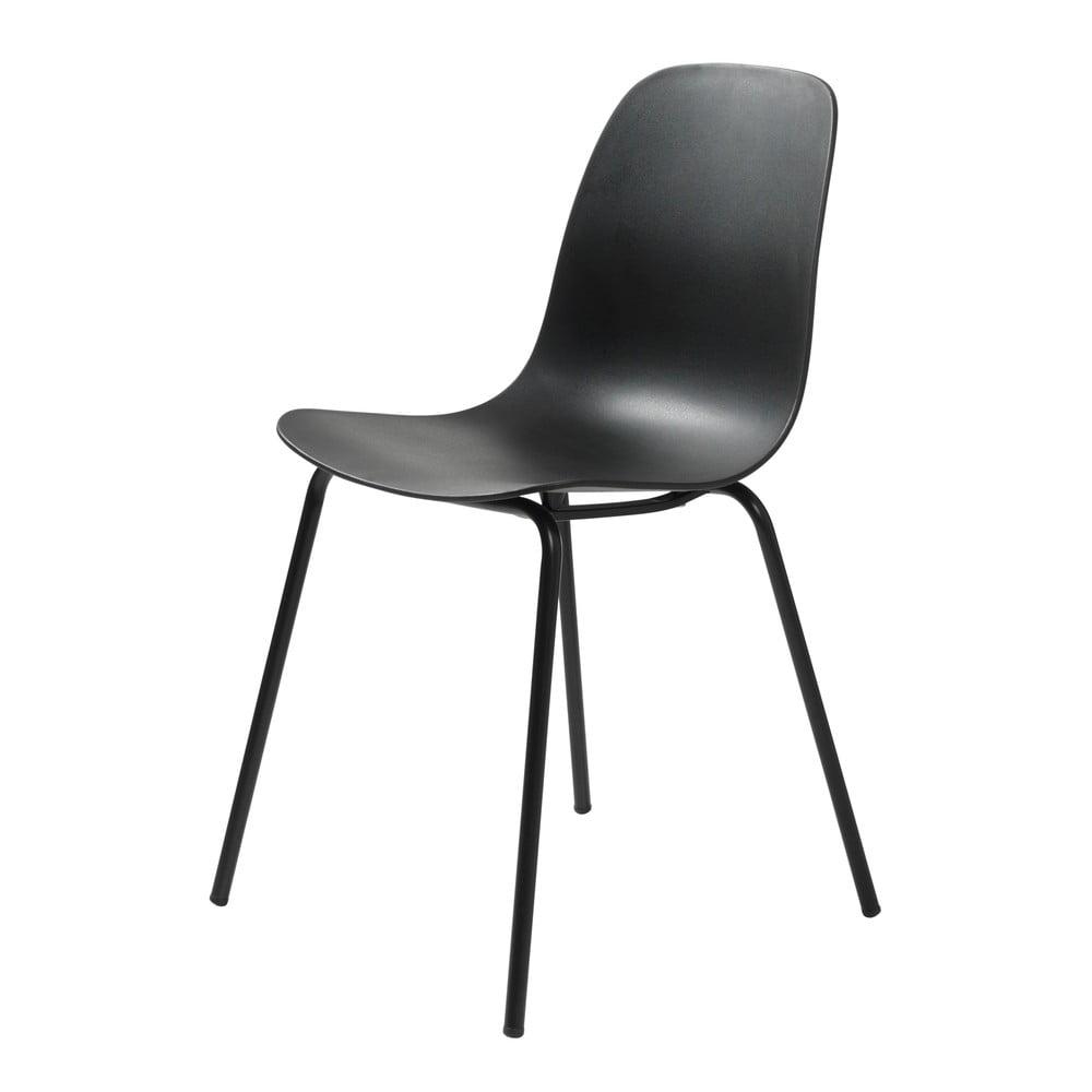Czarne krzesło Unique Furniture Whitby