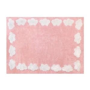 Dywan Nube 160x120 cm, różowy