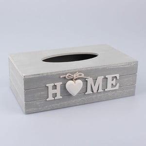 Pudełko na chusteczki Country Home Grey