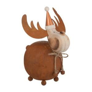 Dekoracja J-Line Reindeer Met