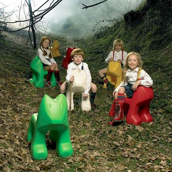 Krzesło dziecięce Julian, zielone